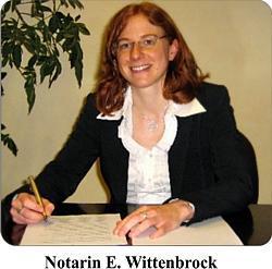 Notarin-e-Wittenbrock