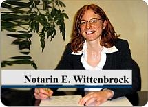 Notar Saarbrücken Evelyn Wittenbrock